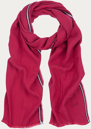 Bally Men's Cotton Chevron Scarf: US$210.