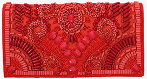 Balmain Embroidered Women's Leather Clutch: €2,680.
