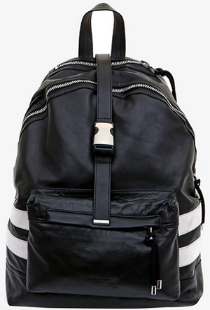 Balmain Men's Leather Backpack: €1,015.