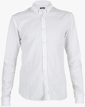 Balmain Ribbed Edge Vintage Men's Cotton Shirt: €485.