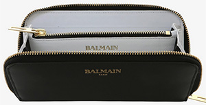 Balmain Smooth Women's Leather Wallet: €495.