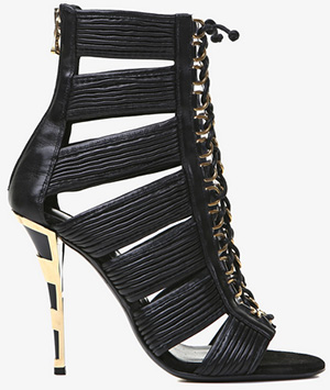 Balmain Hopi Women's Leather Sandal: €1,625.