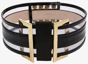 Balmain High-Waisted Women's Leather Belt: €950.