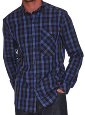 Barbour Appeal Black 53 collection men's shirt.