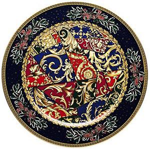 Versace Barock Christmas Plate 30 cm: US$450.