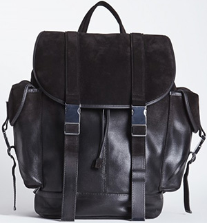 Neil Barrett Port Louis Ruck Sack: US$1,470.93.
