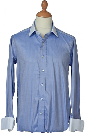 Barrington Ayre bespoke luxury range shirt: £115.