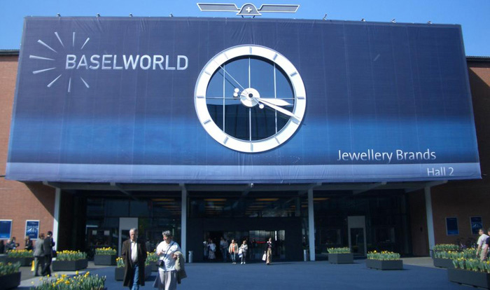 BaselWorld international watch and jewellery trade show.