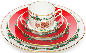 Brooks Brothers Holiday China by Richard Ginori - 5-Piece Place Setting: US$328.