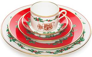 Brooks Brothers Holiday China by Richard Ginori - 5-Piece Place Setting: US$328.