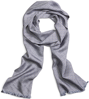 Brooks Brothers Circle Print Silk Men's Scarf: US$228.