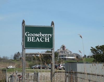 Gooseberry Beach, 130 Ocean Avenue, Newport, RI 02840.
