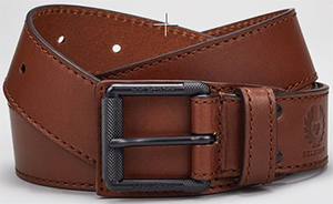 Belstaff Brookman Men's Belt in calf leather: €235.