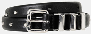 The Kooples Belt Decorated with Studs: £115.
