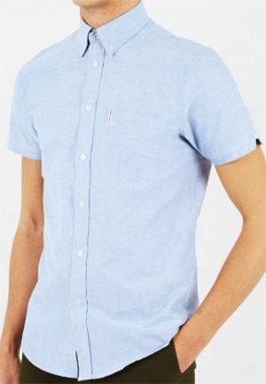 Ben Sherman Classic Oxford Short Sleeve shirt: £50.
