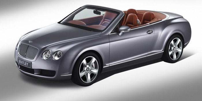 Bentley Continental GTC.