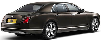 Bentley Mulsanne Speed.