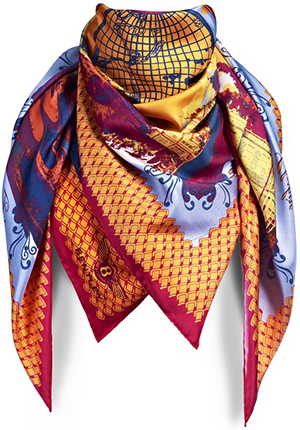 Bentley Printed Silk Square Women's Scarf: £180.