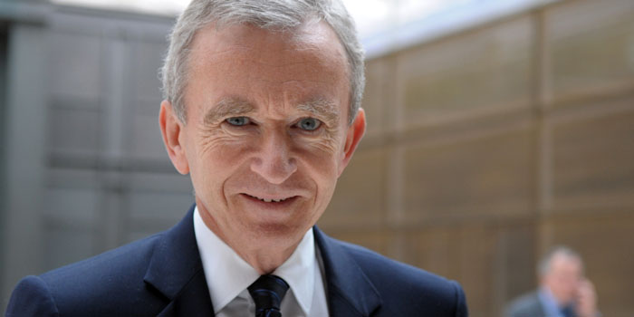 Bernard Arnault - world's 18th richest person: US$32.1 billion (as of December 31, 2013. Bloomberg Billionaires).