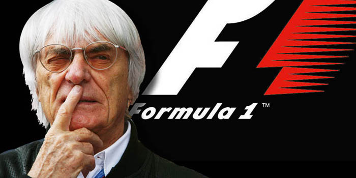 'F1 Supremo' Bernie Ecclestone, president and CEO of Formula 1 Management and Formula 1 Administration.