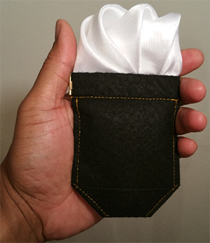 Best Pocket Square Holder: US$19.99.