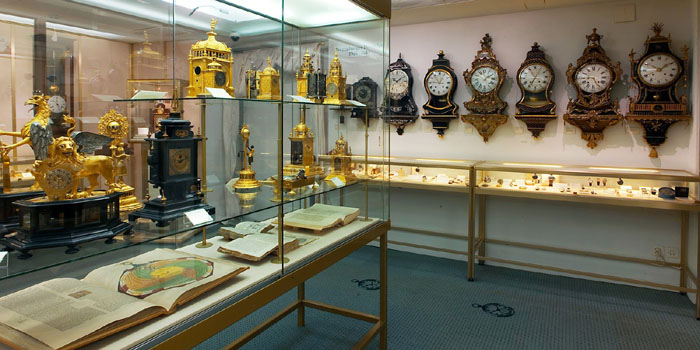 Beyer Clock & Watch Museum, Bahnhofstrasse 31, 8001 Zurich, Switzerland.