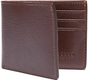 Lotuff Leather Bifold Wallet: US$195.