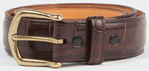 Billy Reid Men's Alligator Belt: US$495.
