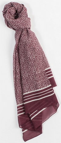 Billy Reid Marra men's scarf: US$225.