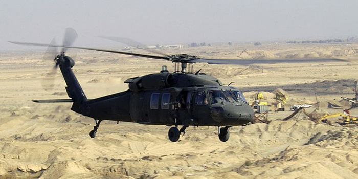 Sikorsky UH-60 Black Hawk helicopter.