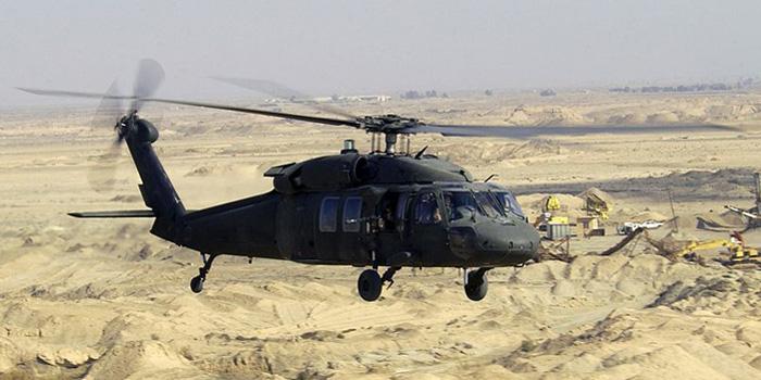 Sikorsky UH-60 Black Hawk helicopter.