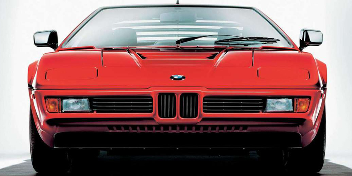 BMW M1 - the only mid-engined BMW to be mass produced (1978-1981).