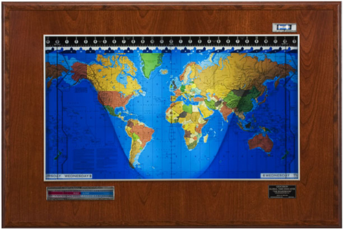Geochron Boardroom Model: US$2,995.