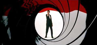 James Bond 007 - Intro sequence collage from 1962-2006: You Tube 7:25.