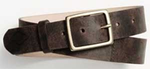 Rag & Men's Rugged Espresso Belt: US$195.