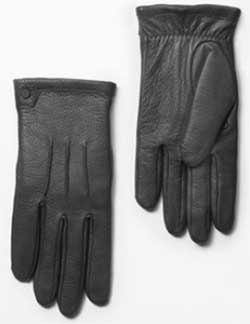 Rag & Bone Men's Black Windsor Gloves: US$275.