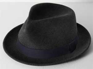 Rag & Bone Hackman Men's Fedora: US$195.