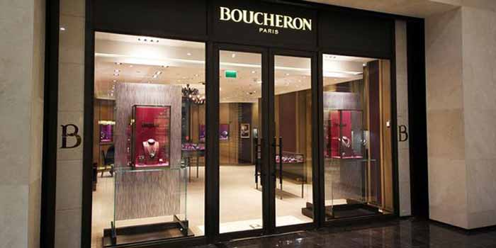 The House of Boucheron's flagship store at Lagoona Mall, West Bay, 615 Doha, Qatar.