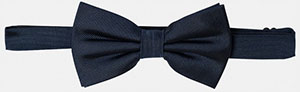 The Kooples Silk Bow Tie: €70.