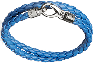 Tod's Leather My Colours Men's Leather Bracelet.