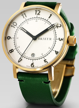 Bravur model BW001G-W-LDG1 watch: US$880.