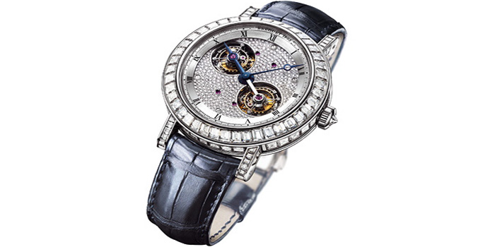 World's Most Expensive Watch #28: Breguet Classique 5349 Grande Complication. It contains more than 570 parts and has three patents to protect its 'superior precision and technological mastery'. Price: US$755,000.