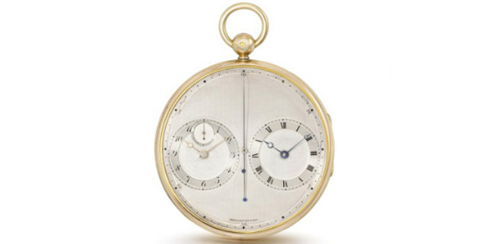 World's Most Expensive Watch #4: Breguet & Fils, Paris No. 2667 Precision Stop Watch. Sold at Christie's Auction in Geneva for US$4,682,165 on May 14, 2012.
