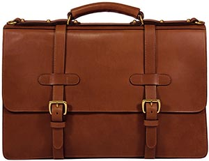 Lotuff Briddle English Briefcase: US$1,775.