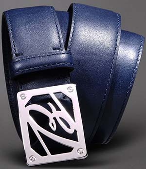 Brioni Men's Belt with Branded Buckle: US$400.