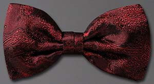 Brioni Bow Tie with Paisley Motif: US$150.