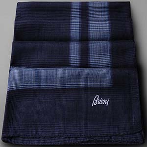 Brioni Men's Scarf in Cashmere and Silk: US$1,300.