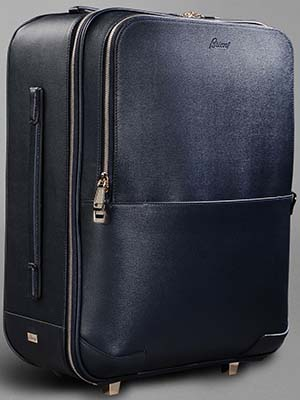 Brioni Leather Trolley: US$6,325.