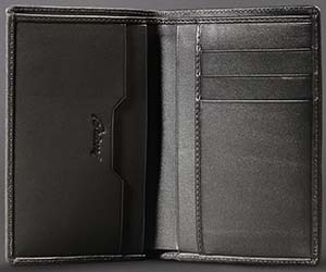 Brioni Wallet in Hand-Perforated Leather: US$1,325.