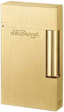 S.T. Dupont Briquet Collection Atelier or jaune brossé: €950.